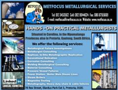 METFOCUS METALLURGICAL SERVICES