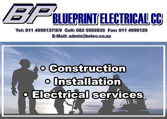 Blueprint Electrical Cc Johannesburg Contractors Directory