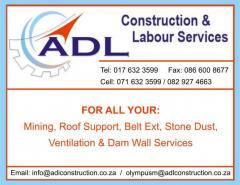 ADL Construction & Labour services cc