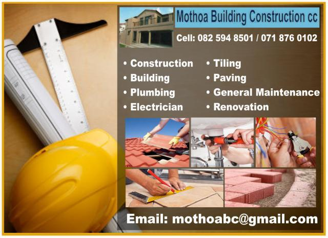 Mothoa Building Construction cc