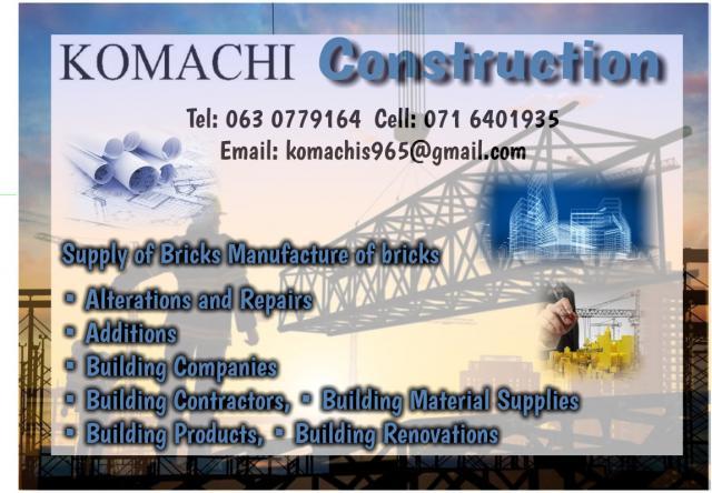 Komachis Construction