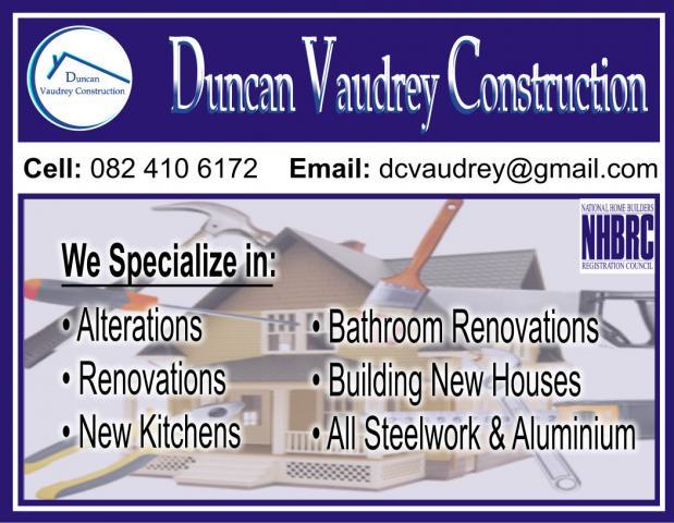 Duncan Vaudrey Construction