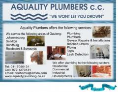 Aquality Plumbing cc