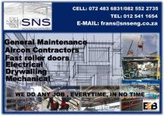 S.N.S Engineering & Construction cc