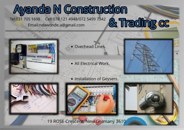 Ayanda N Construction & Trading cc