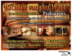 Richter van der Watt Prokureurs