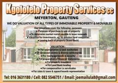 Kgolofelo Property Services cc