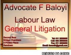 Advocate F Baloyi