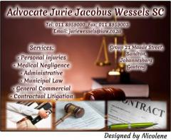 Advocate Jurie Jacobus Wessels SC