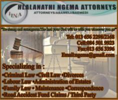 Hlalanathi Mgema Attorney