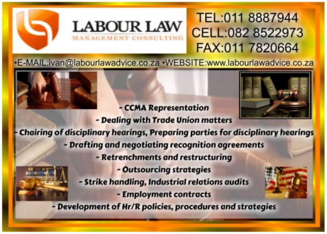 Labour Law Managmentt Consulting