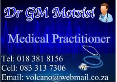 Dr GM Motsisi