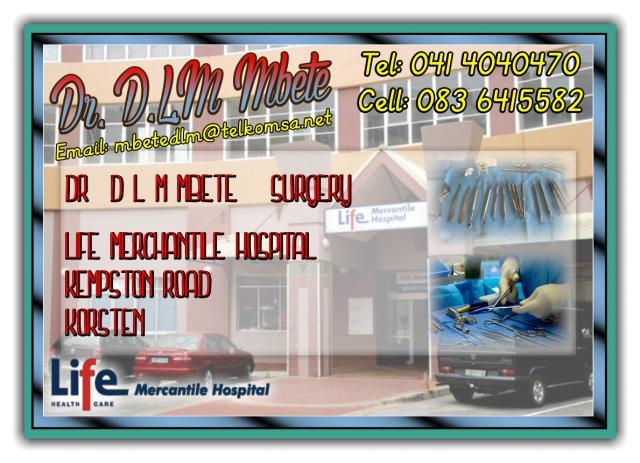 Dr. D.L.M Mbete