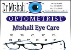 Dr Mtshali Optometrist