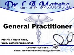 Dr L A Mateta