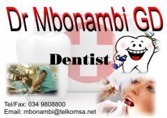 Dr Mbonambi GD