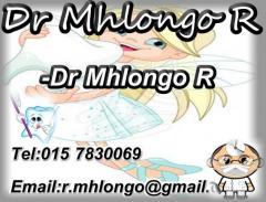 Dr Mhlongo R