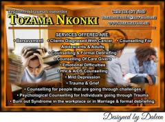 Registered Trauma Counsellor Tozama Nkonki
