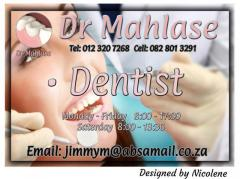 Dr Mahlase