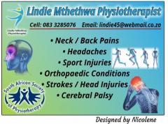 Lindie Mthethwa Physiotherapist