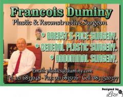 Francois Duminy Plastic & Reconstructive Surgeon