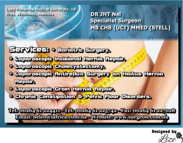 Dr J.H.T Nel Specialist Surgeon