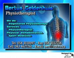 Bertus Geldenhuis Physiotherapist