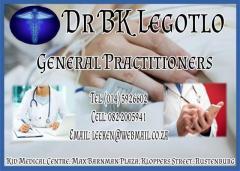 Dr BK Legotlo