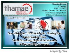 Thamae Occupational Health Solutions