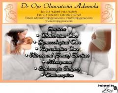 Dr Ojo Oluwatosin Ademola