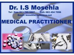 Dr I.S Mosehla