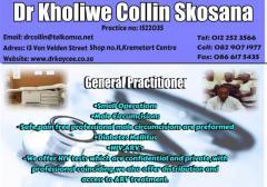 Dr.Kholiwe Collin Skosana