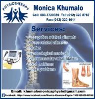 Monica Khumalo Physiotherapist