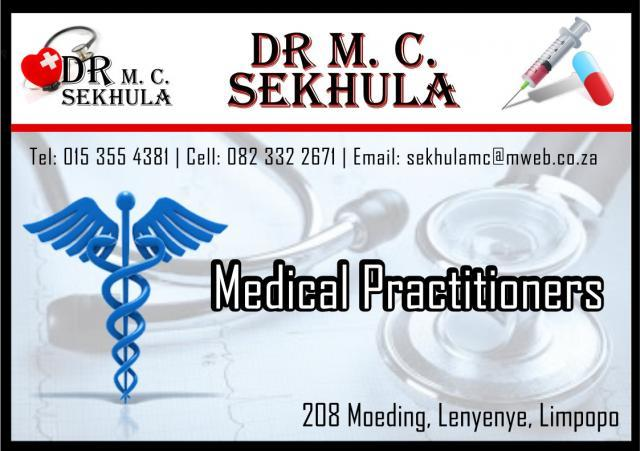 Dr M C Sekhula