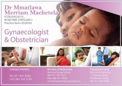 Dr Mmatlawa Merriam Machetela