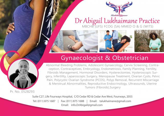 Dr Abigail Lukhaimane