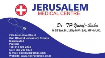 Jerusalem And Rider Medical Center