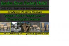 Garden Decor Factory Outlet