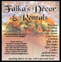 FAIKAS DECOR & RENTALS