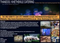 Thandos / Khethekile Catering