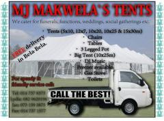 MJ Makwela`s Tents