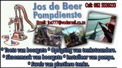 Jos De Beer Pompdienste