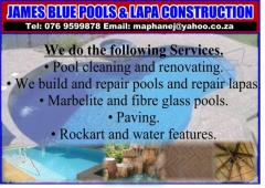 James Blue Pools and Lapa Construction