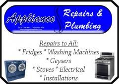 Appliance Repairs & Plumbing