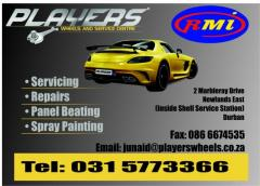 Players Wheel & Service Centre cc
