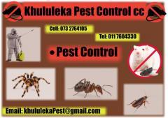 Khululeka Pest Control cc