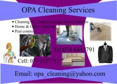 OPA Cleaning Services