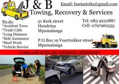 J & B Towing, Recovery & Services