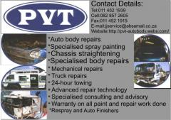PVT Auto Body Refurbishers