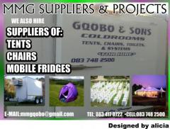 MMG SUPPLIERS & PROJECTS